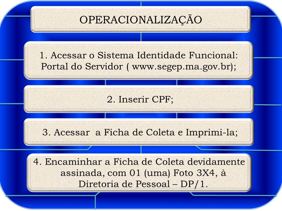 OPERACIONALIZAÇÃO 1.