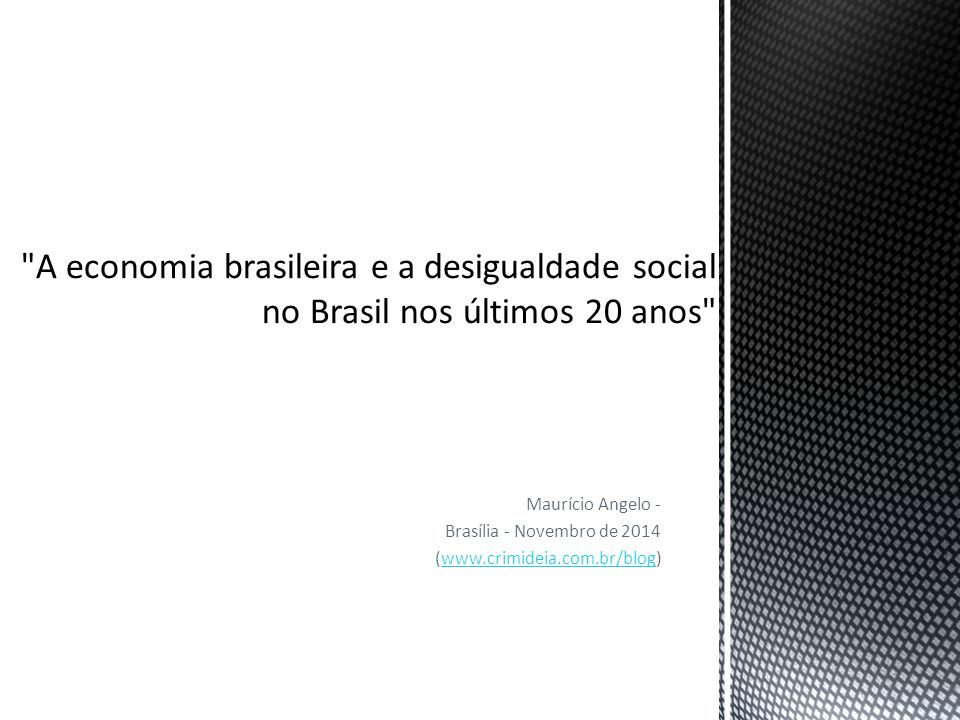 Maurício Angelo - Brasília - Novembro de 2014 (www.crimideia.com.br/blog)www.crimideia.com.br/blog