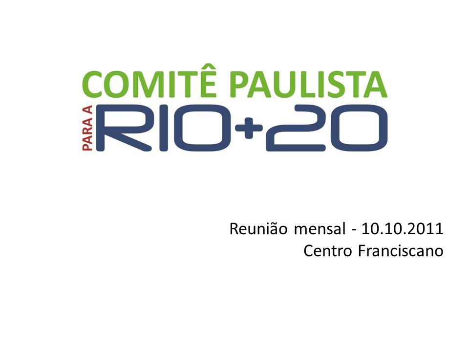 Reunião mensal - 10.10.2011 Centro Franciscano