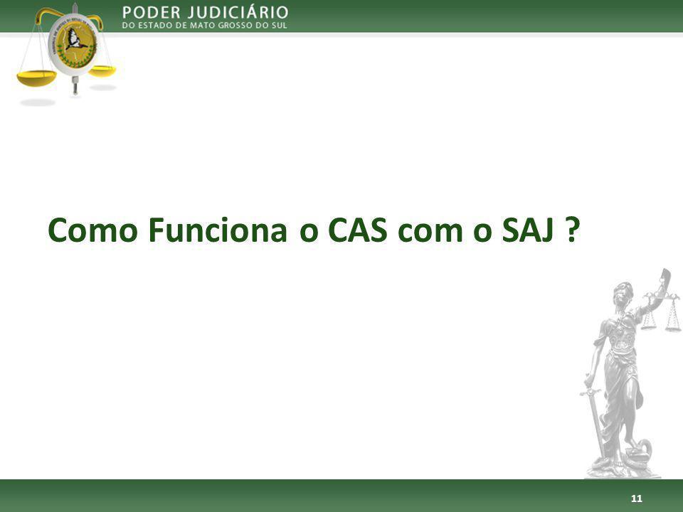 Como Funciona o CAS com o SAJ ? 11