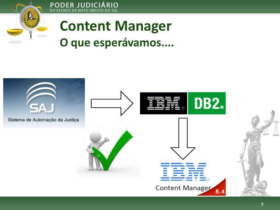 Content Manager O que esperávamos.... 7