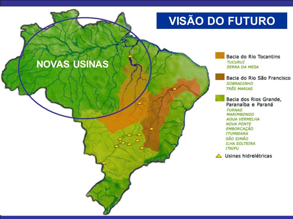 VISÃO DO FUTURO NOVAS USINAS