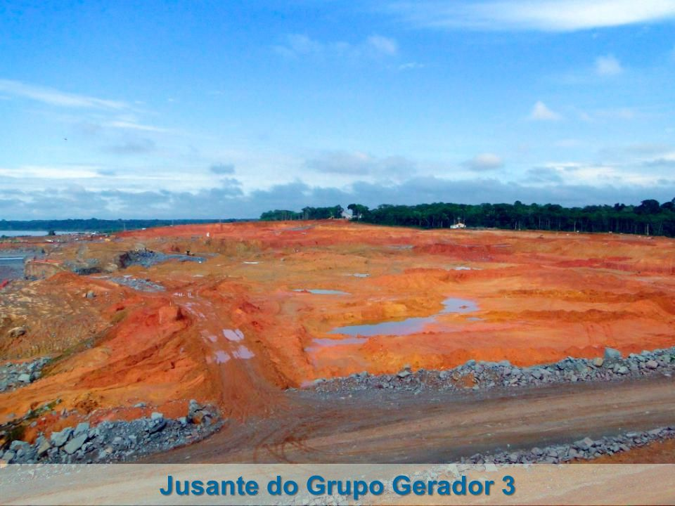 Jusante do Grupo Gerador 3