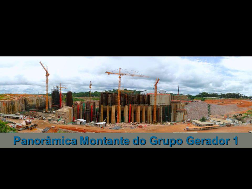 Jusante do Grupo Gerador 2 VTP AM-2