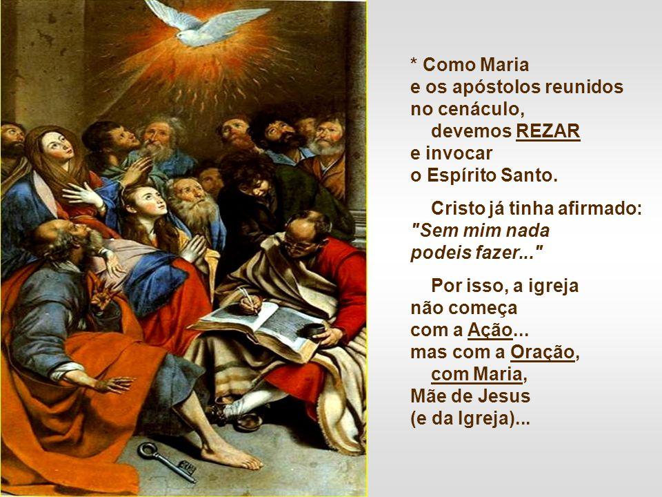 2. A Ascensão nos lembra que somos ENVIADOS de Cristo para continuar e completar a sua obra... Não podemos ficar parados, olhando para o céu... Devemo