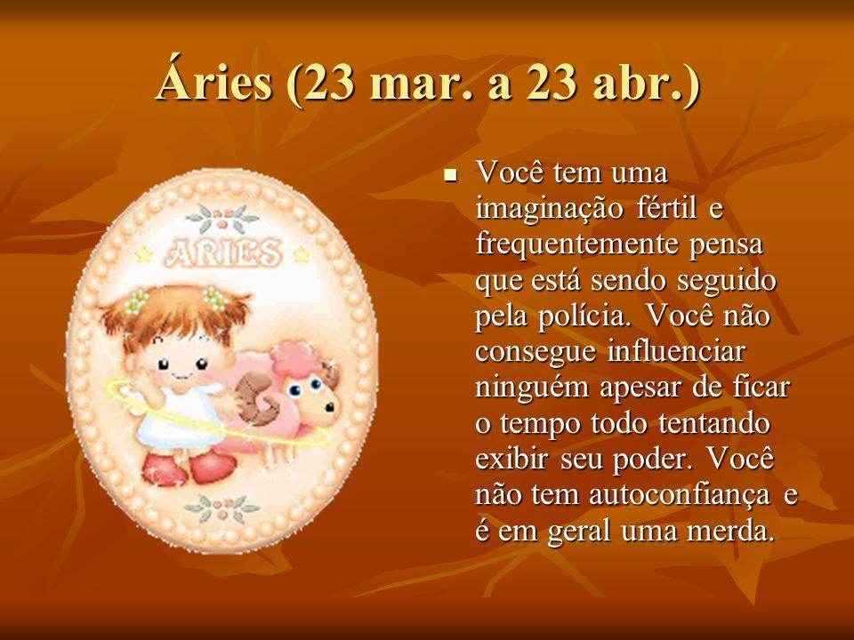 Áries (23 mar.