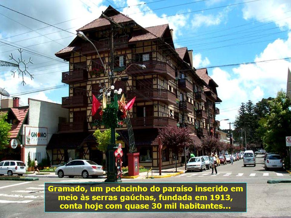 Região das Serras Gaúchas colonizada por alemães e italianos que para cá vieram, trazendo na bagagem apenas a alegria, a música, seus costumes e o son