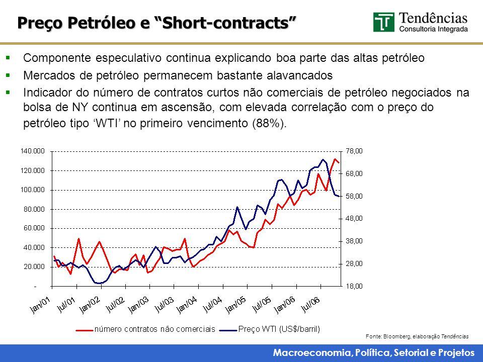 Macroeconomia, Política, Setorial e Projetos 2007 deverá crescer puxada pelas vendas domésticas Produção de automóveis Fonte: Fenabrave.