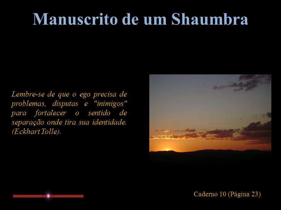Manuscrito de um Shaumbra Apego ao lado físico e psicológico do ser é parte da mais grosseira ilusão.
