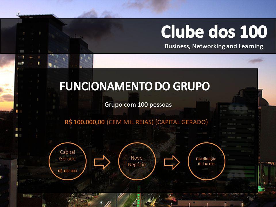 Business, Networking and Learning INICIANDO UM NEGÓCIO...