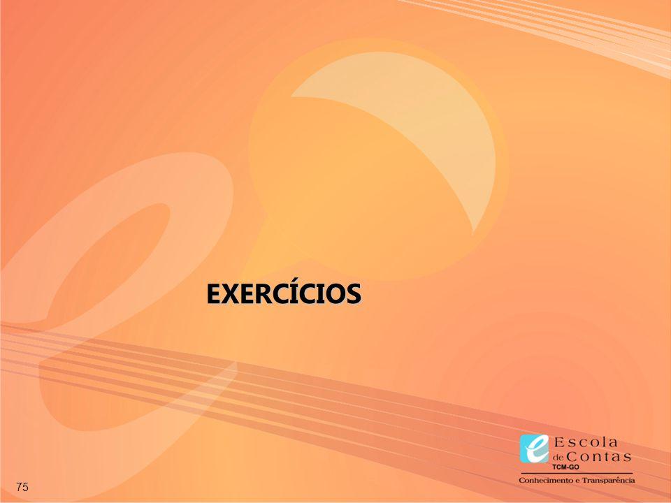 75 EXERCÍCIOS