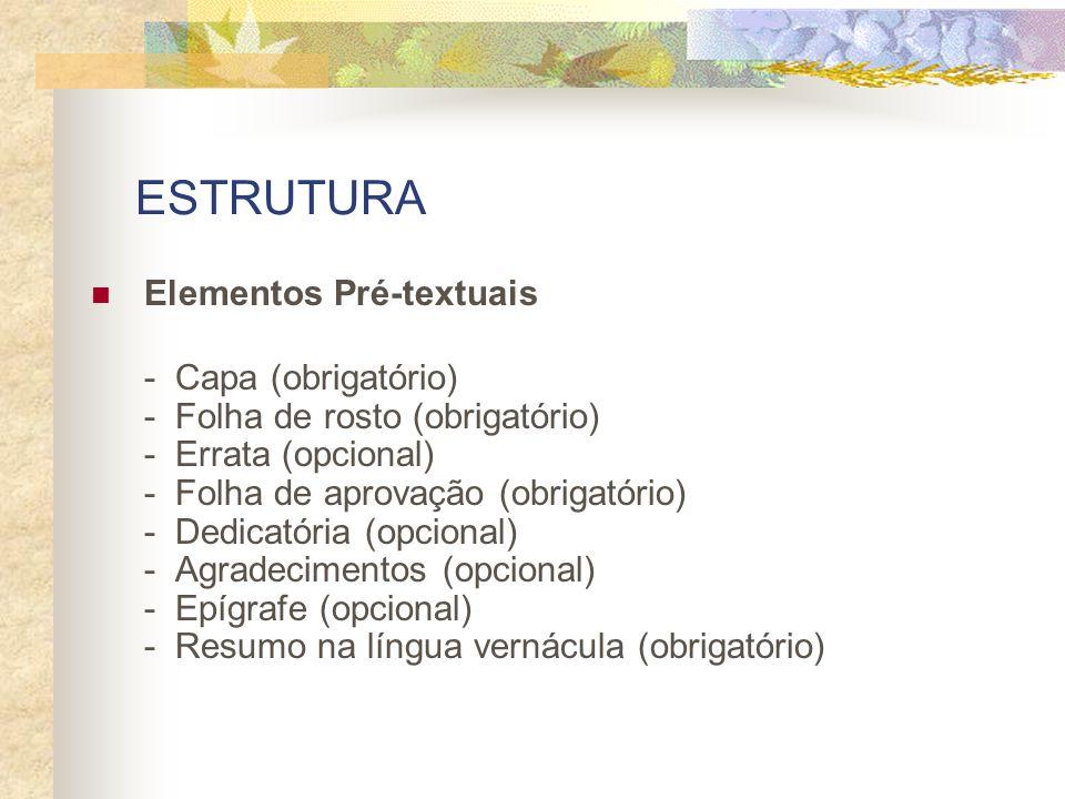 MANUAL PARA FORMATAÇÃO E EDIÇÃO DE DISSERTAÇÕES E TESES Manual elaborado sob a coordenação do Prof.