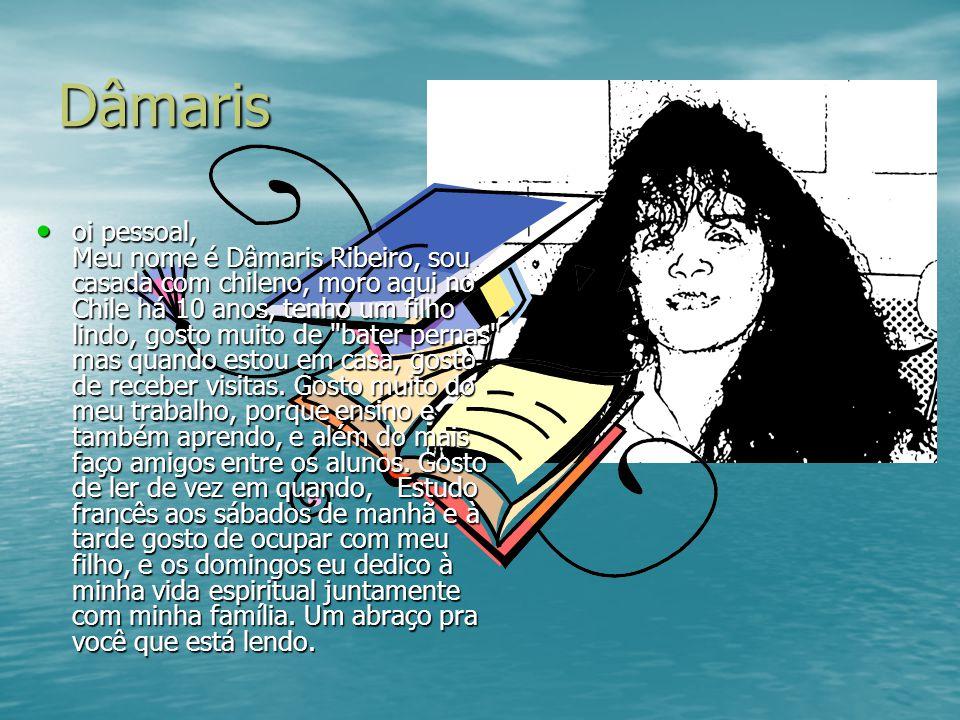 Dulce Meu nome é Dulce, sou bibliotecaria e trabalho no Centro de Estudios Brasileños, é muito agradável trabalhar com informação e estar entre os livros.