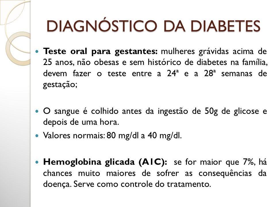 Teste oral para gestantes: mulheres grávidas acima de 25 anos, não obesas e sem histórico de diabetes na família, devem fazer o teste entre a 24ª e a