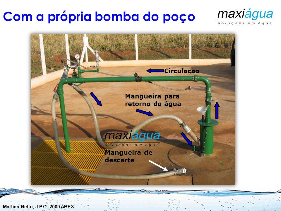 Operações com Bombas Vantagens Baixo custo, pois não exige equipamentos terceirizados Pode ser feita em poucas horas Desincrustação de bombas aprision