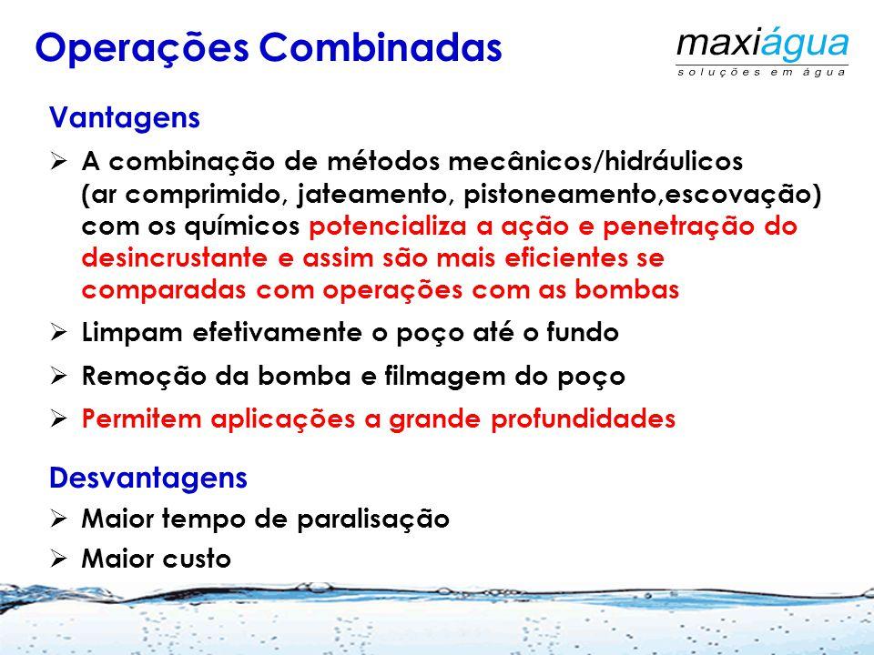 Mangueira para retorno da água Mangueira de descarte Circulação Com a própria bomba do poço Martins Netto, J.P.G. 2009 ABES