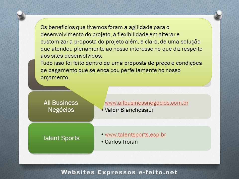 Clientes Contentes e-feito.net www.tecnoambi.com.br Cristiane Boff Maciel Tecnoambi Eng.