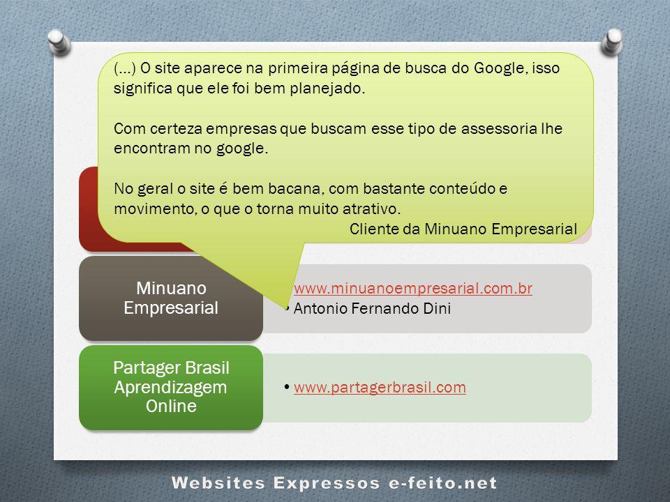 Clientes Contentes e-feito.net www.saudedohalito.com.br Dra. Paula Faggion e Dra. Ana Gabriela Batalha Saúde do Hálito www.minuanoempresarial.com.br A