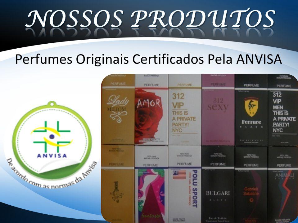 Perfumes Originais Certificados Pela ANVISA