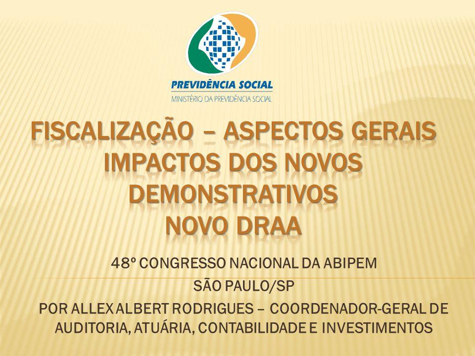 48º CONGRESSO NACIONAL DA ABIPEM SÃO PAULO/SP POR ALLEX ALBERT RODRIGUES – COORDENADOR-GERAL DE AUDITORIA, ATUÁRIA, CONTABILIDADE E INVESTIMENTOS
