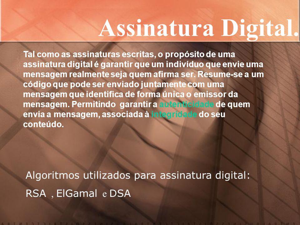 MP 2.200 e Assinaturas Digitais Legislação MP 2.200/02 – Validade dos Documentos Art.