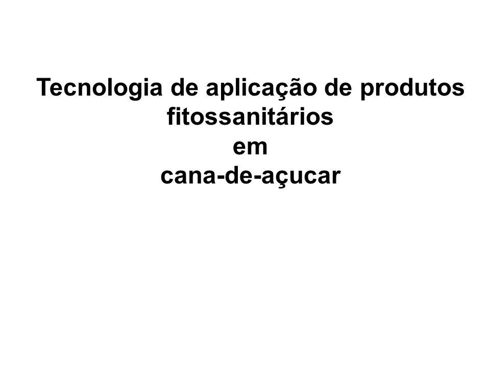 Tecnologia de aplicação de produtos fitossanitários em cana-de-açucar