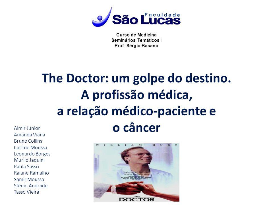 Curso de Medicina Seminários Temáticos I Prof. Sérgio Basano Almir Júnior Amanda Viana Bruno Collins Carime Moussa Leonardo Borges Murilo Jaquini Paul