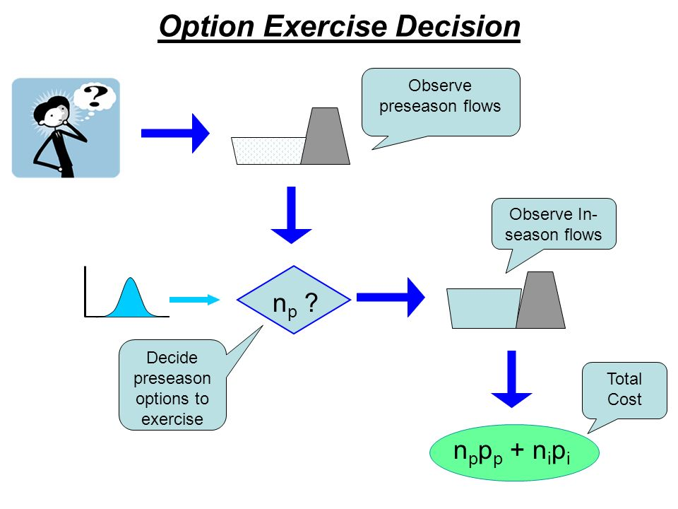 Option Exercise Decision n p .