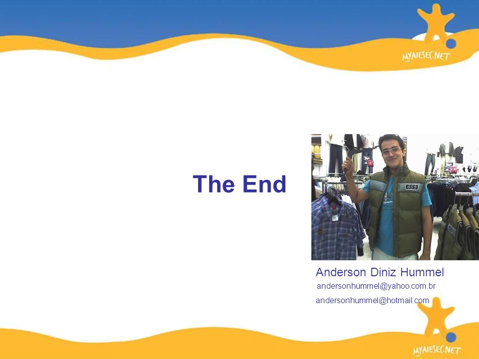 The End Anderson Diniz Hummel
