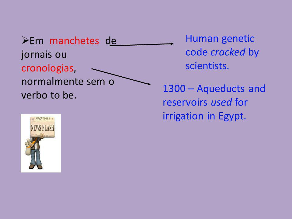 Human genetic code cracked by scientists.