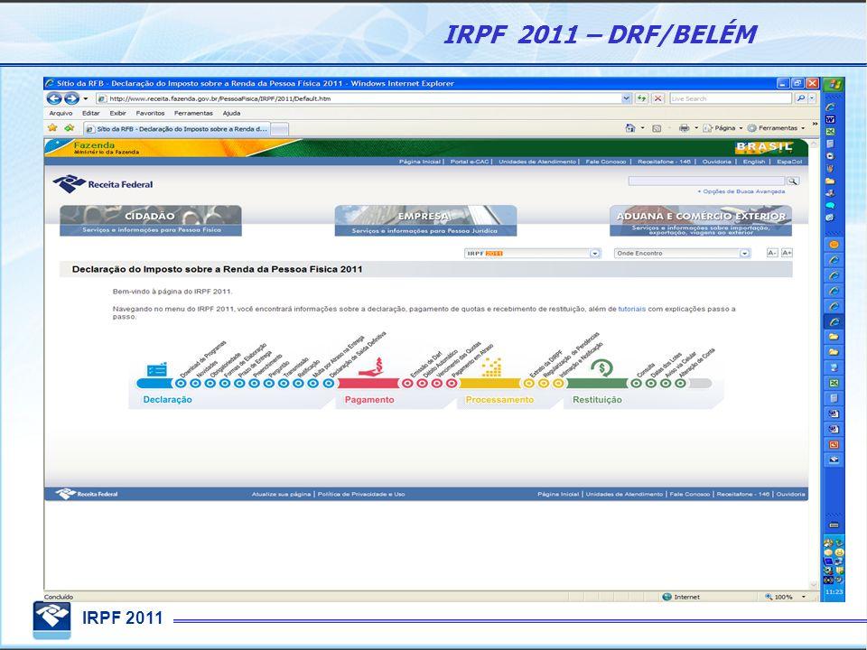 programa irpf 2011 retificadora