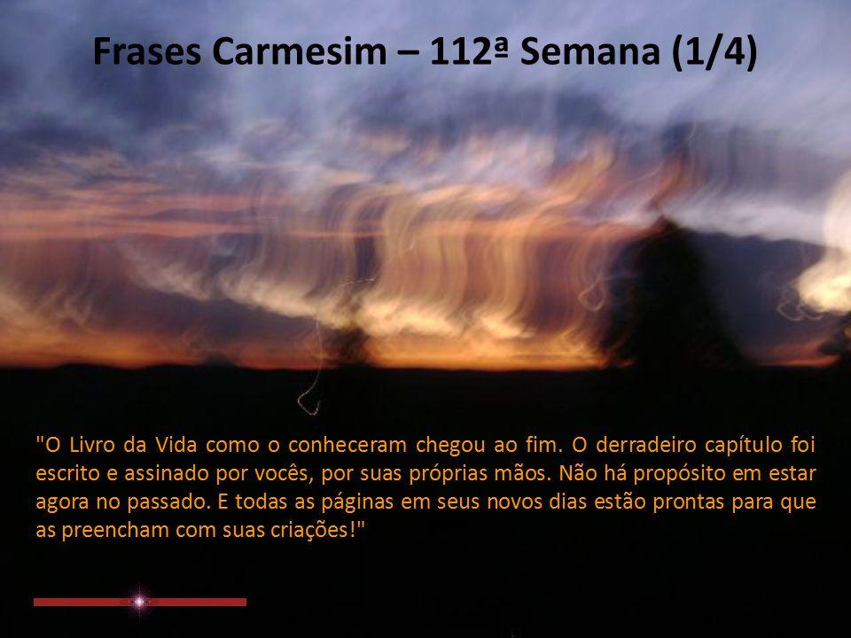 Frases Carmesim 112ª Semana Extraídas Do Site Ppt Carregar