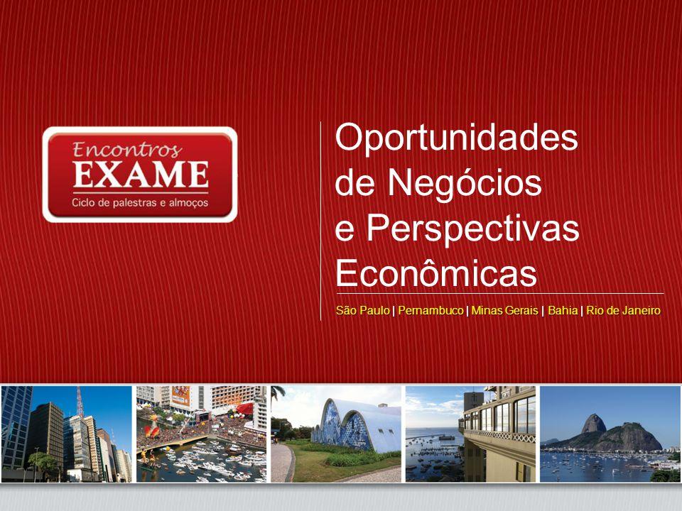 Oportunidades de Negócios e Perspectivas Econômicas São Paulo ... c176a14ee64a5