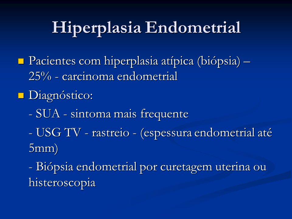 espessamento endometrial sintomas de diabetes