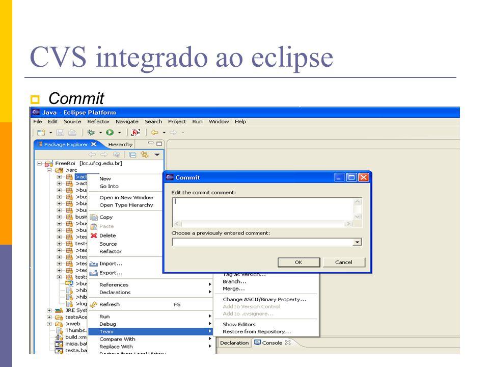 1 Concurrent Versions System - CVS Pra que usar  Onde encontrar ... 8d3fb6f33ffe3