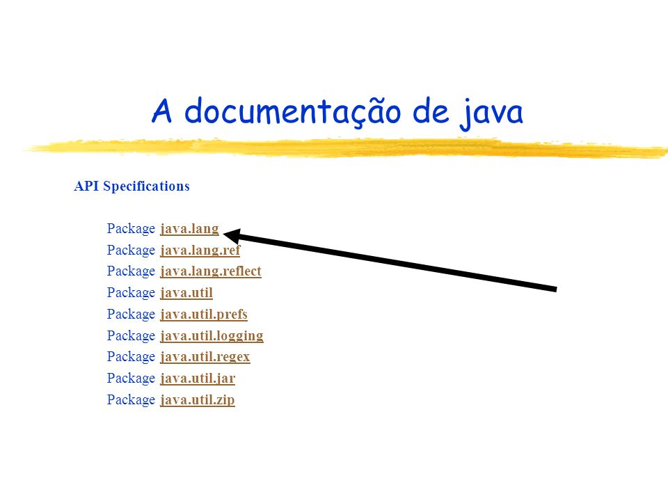 API Specifications Package java.langjava.lang Package java.lang.refjava.lang.ref Package java.lang.reflectjava.lang.reflect Package java.utiljava.util Package java.util.prefsjava.util.prefs Package java.util.loggingjava.util.logging Package java.util.regexjava.util.regex Package java.util.jarjava.util.jar Package java.util.zipjava.util.zip