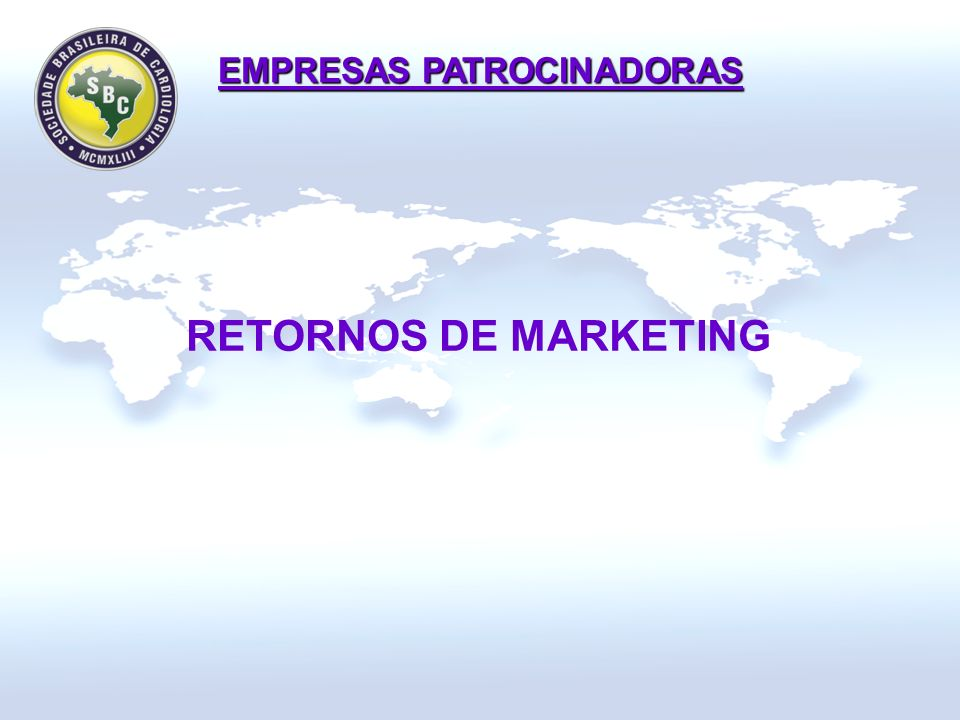 RETORNOS DE MARKETING EMPRESAS PATROCINADORAS