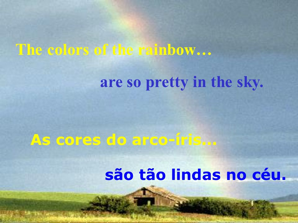 and I think to myself E eu penso comigo mesmo, what a wonderful w ww world. que MUNDO MARAVILHOSO.