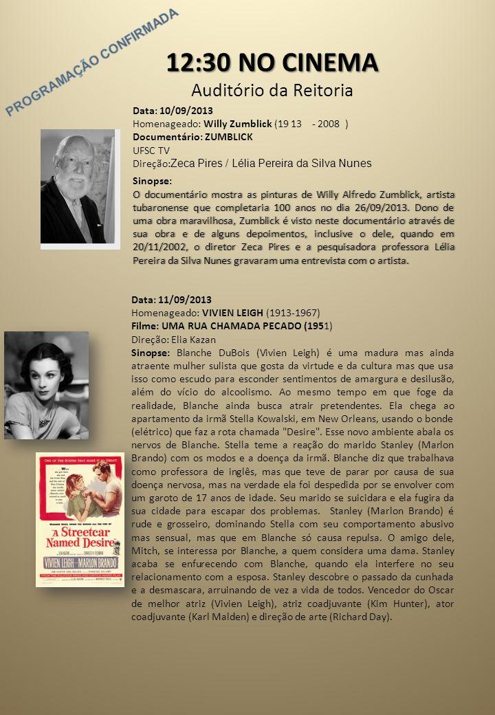 aafac611ca Data  10 09 2013 Homenageado  Willy Zumblick ( ) Documentário  ZUMBLICK