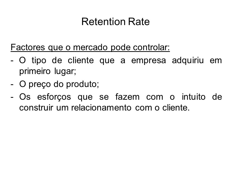 Customer relationship management mensurao do crm trabalho 25 retention fandeluxe Image collections