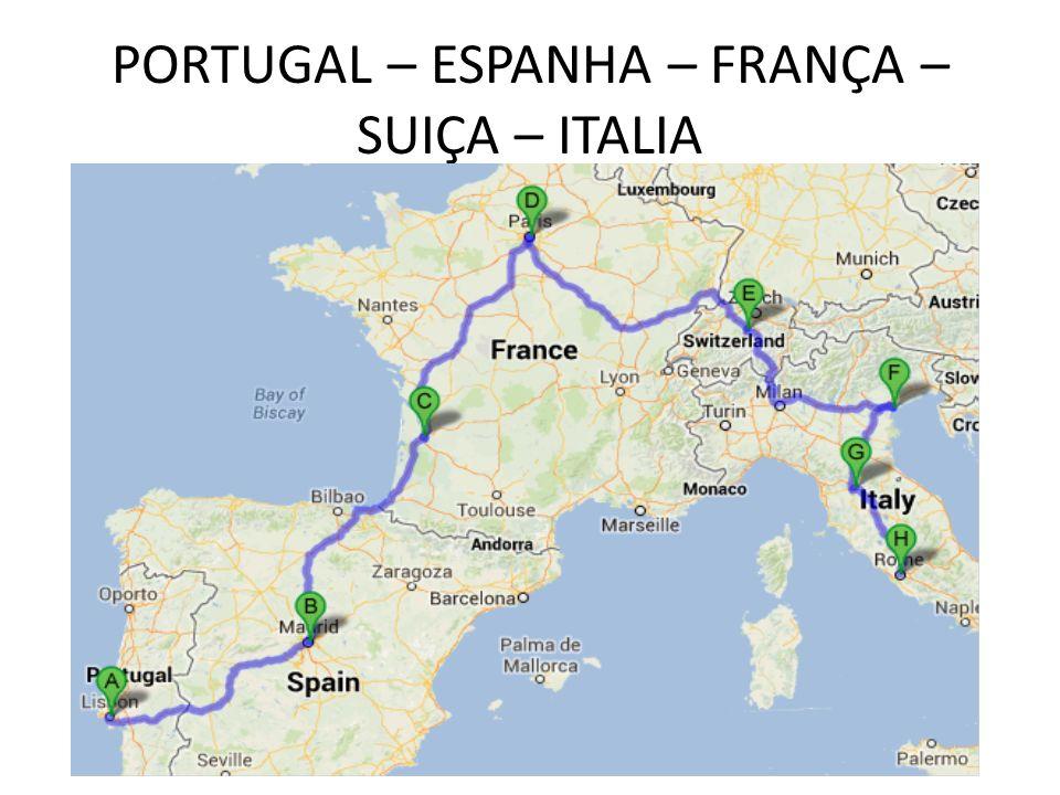 mapa de portugal espanha e frança BASES NA EUROPA PORTUGAL – CIA TRANSPORTES E RECEPTIVO ESPANHA  mapa de portugal espanha e frança