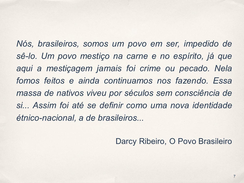 1 Evolução Sociocultural Senai Sp Olhares Sobre O Brasil O Brasil