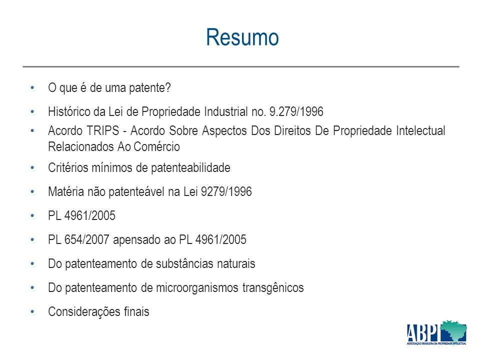 LEI 9279 DE 1996 PDF
