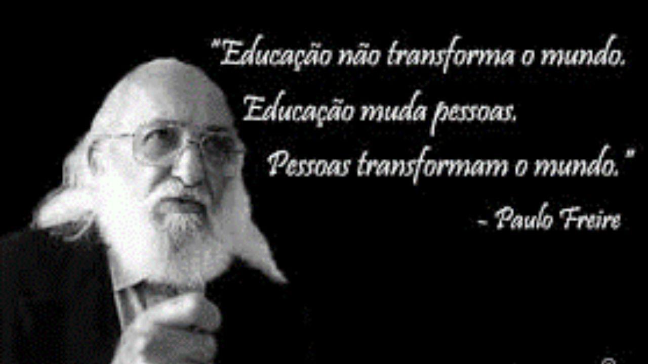 O Legado De Paulo Freire Para A Educação Brasileira Um Pefil