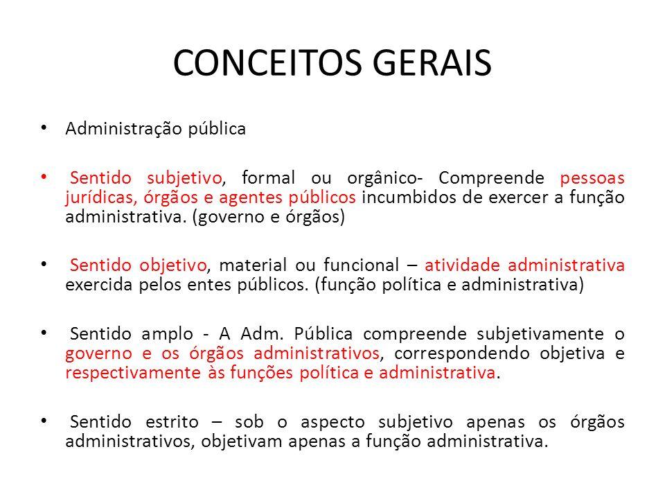 9cfa254037d82 DIREITO ADMINISTRATIVO FACULDADE ASA. CONCEITOS GERAIS Osvaldo ...