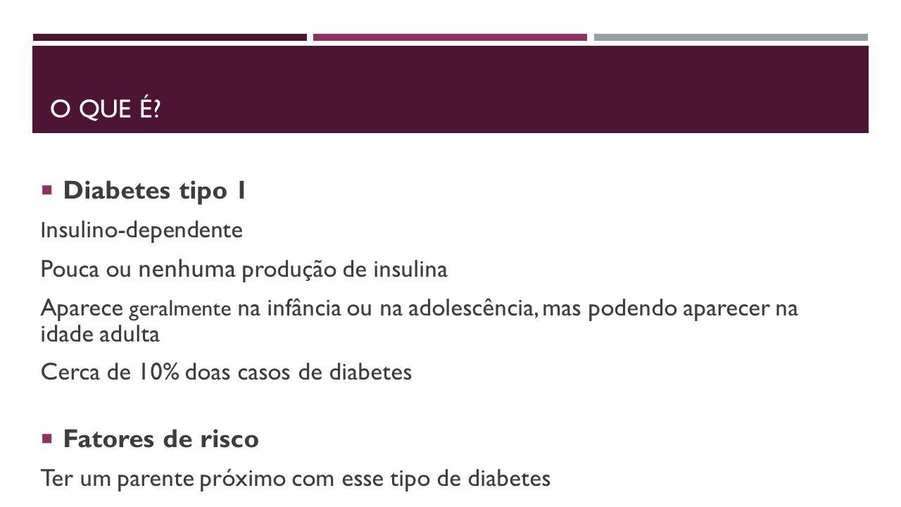 diabetes tipo 1 de trabalho