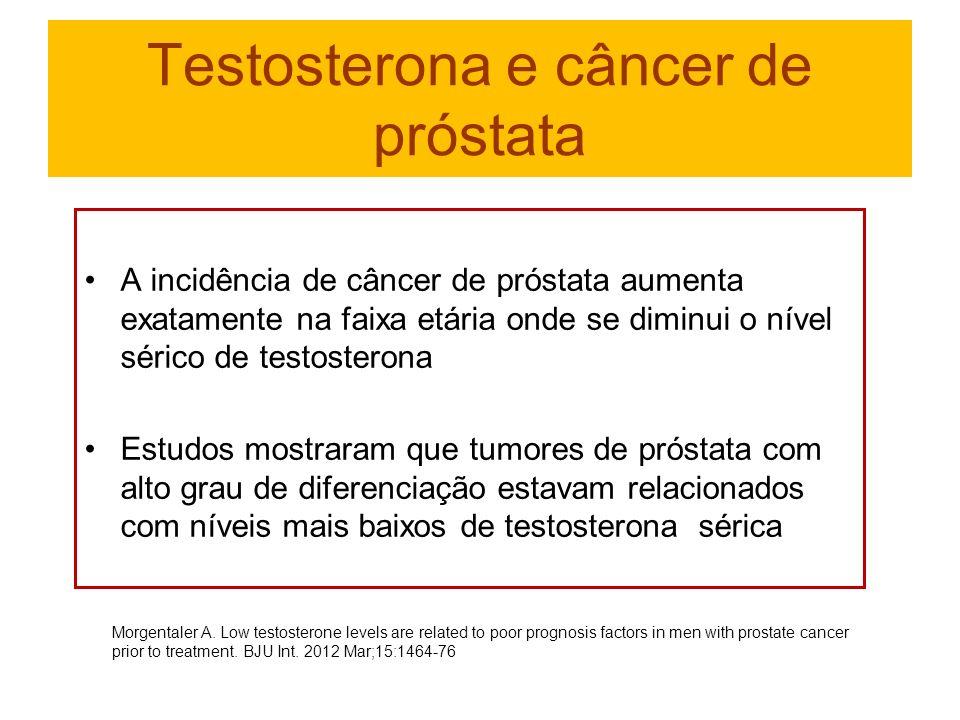 testosterona baixa e cancer de prostata