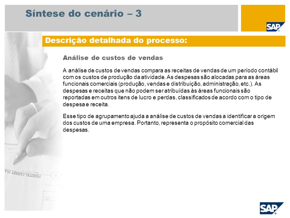 132a24915cf561 Análise de custos de vendas SAP Best Practices Baseline Package ...