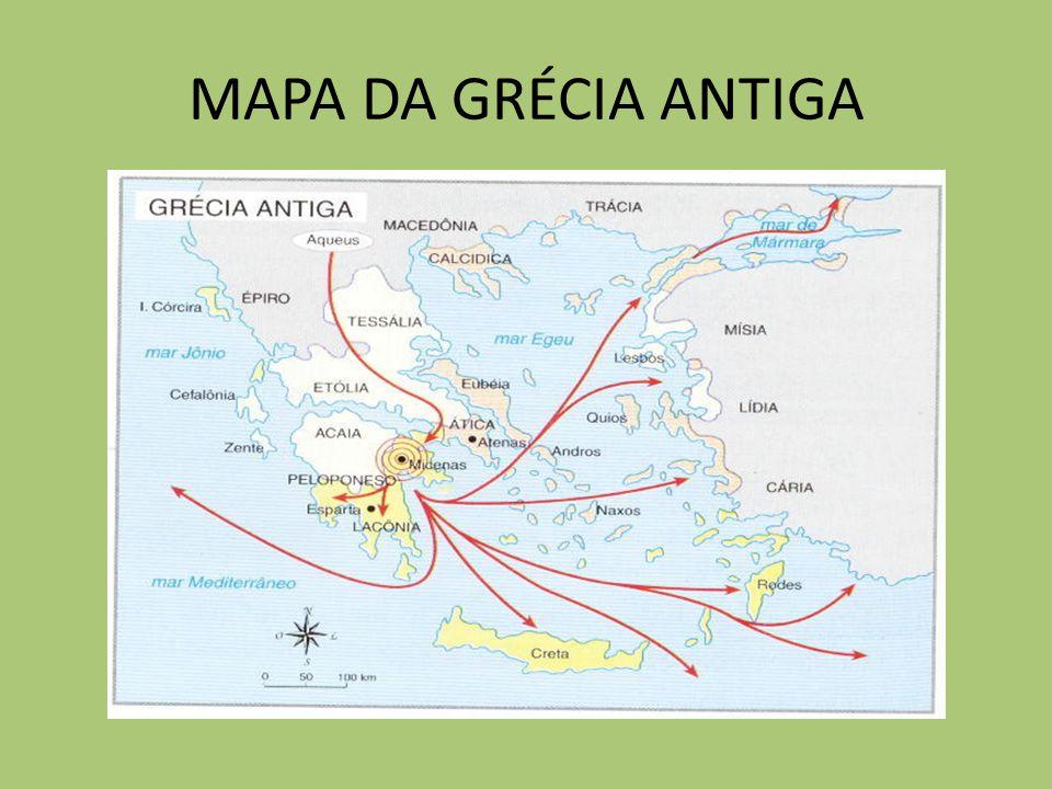 mapa da grecia antiga Trabalho de História: Grécia mapa da grecia antiga