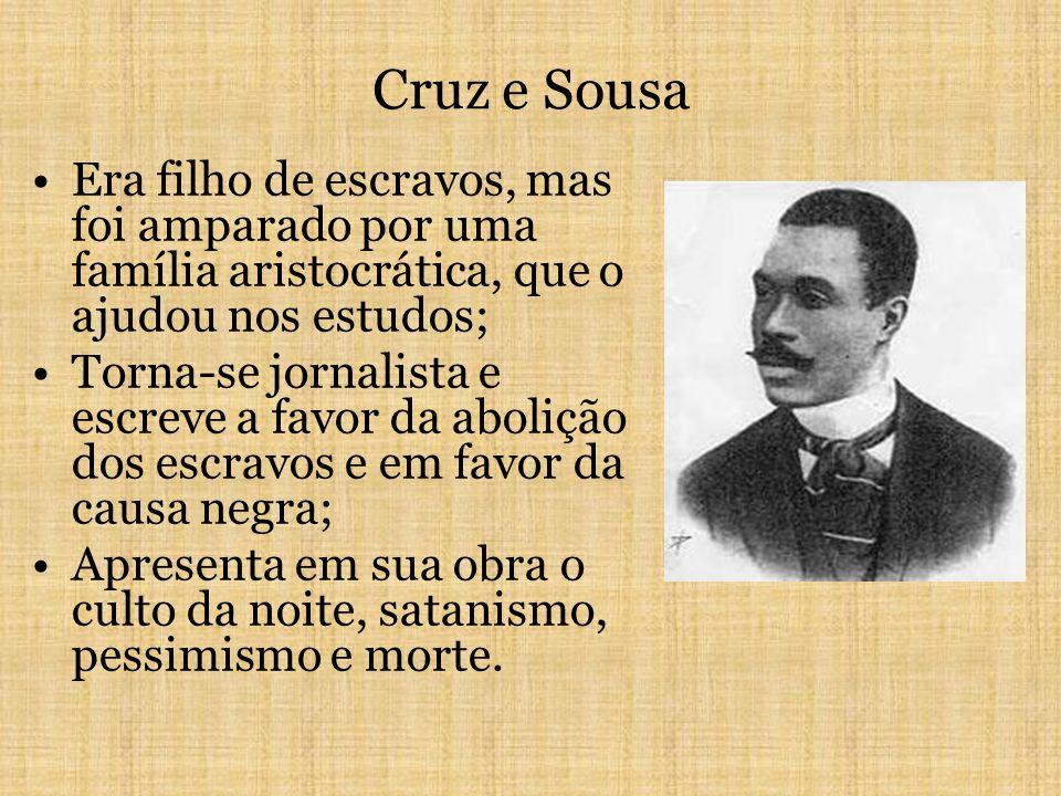 TRIBUNA DA INTERNET | Um homem bêbado, na poesia dura e realista de Cruz e Sousa